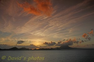 Sunrise over St Kitts and NevisEDIT 1